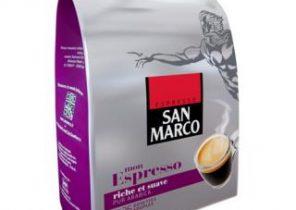 Dosette café San Marco : un colis de 360 unités saveur Espresso